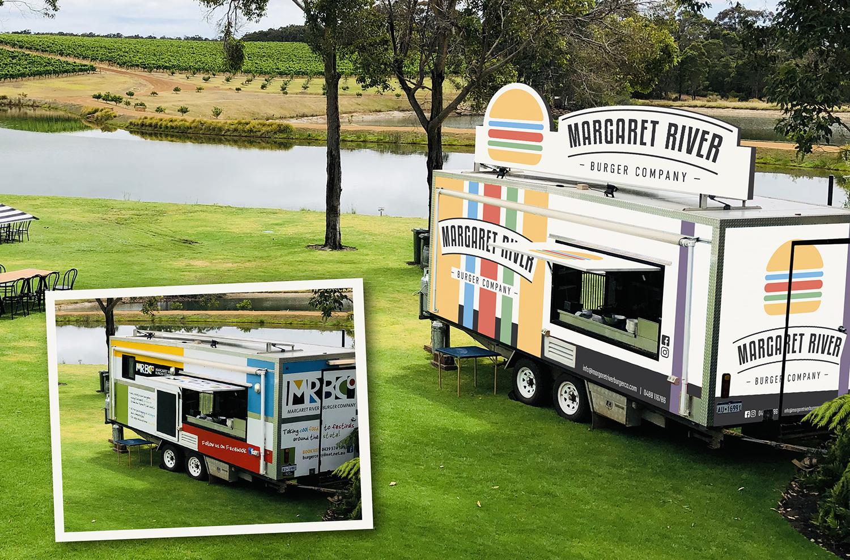 Margaret River Burger Co. Truck Design