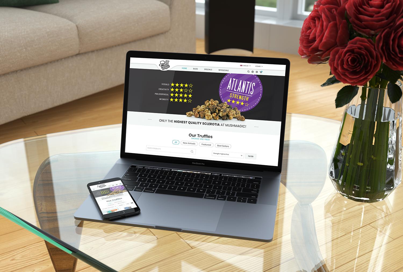 MushMagic Website