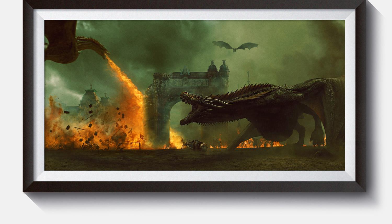 Arc de Triomf Barcelona / Game of Thrones