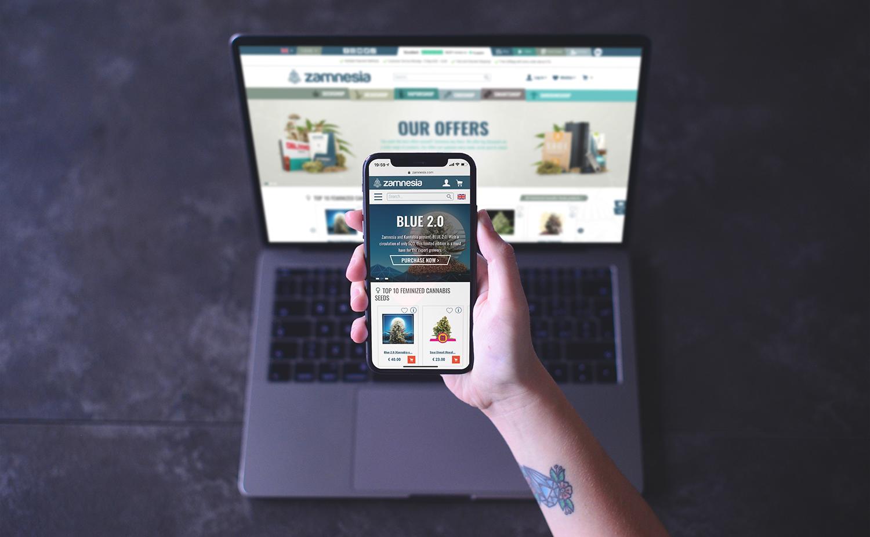 Zamnesia Website